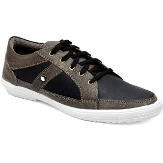 Braavosi Men Black casual Shoe
