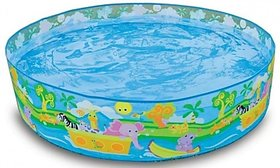 Snapset 4 Feet Kids Water Pool Bath Tub Swimming Pool requires no air