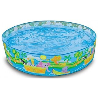 Snapset 4 Feet Kids Water Pool Bath Tub Swimming Pool requires no air