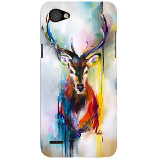 Printgasm LG Q6 printed back hard cover/case,  Matte finish, premium 3D printed, designer case