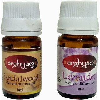 Arghyam Sandalwood And Lavender Aroma Oil