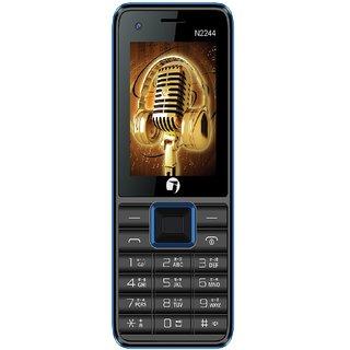 Jivi N2244 Black - Blue Selfie Camera 2.4 Display Dual