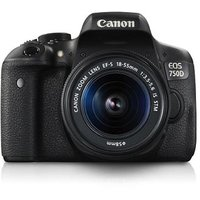 Canon EOS 750D Kit With EF-S18-55mm IS STM + Carry Case