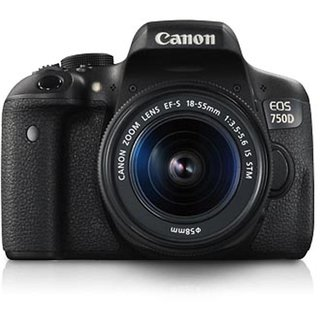 Canon EOS 750D Kit with EF-S18-55mm IS STM + Carry...