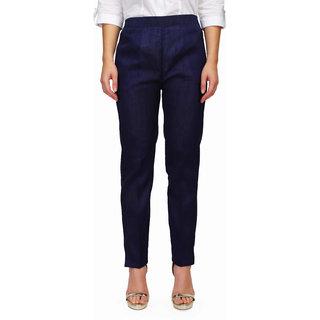 Pret a Porter Ankle Length Pant Colored Pant