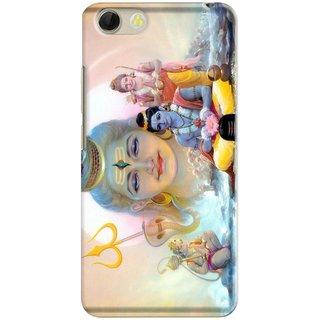 Premium Stuff Printed Back Case Cover For Panasonic P55 Novo Design 5445