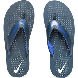 Nike Men's Chroma Thong 5 Navy Blue Flip Flops