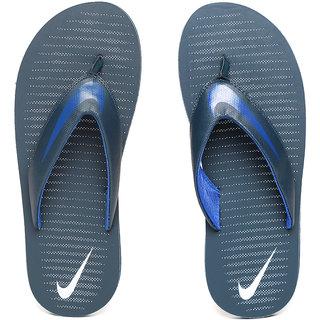 19f837edc64d Buy Nike Men s Chroma Thong 5 Navy Blue Flip Flops Online   ₹1495 ...