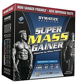 Dymatize Nutrition Super Mass Gainer - 12 Lbs (Gourmet