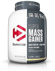 Dymatize Nutrition Super Mass Gainer - 6 Lbs (Gourmet V