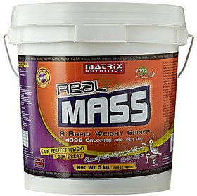 Matrix Nutrition Real Mass - 5 Kg (Chocolate)