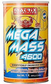 Matrix Nutrition Mega Mass 4600 - 1 Kg (Chocolate)