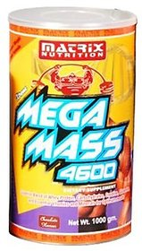 Matrix Nutrition Mega Mass 4600 - 500 G (Chocolate)