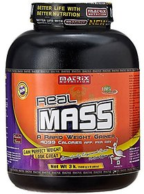 Matrix Nutrition Real Mass - 3 Kg (Chocolate)