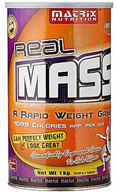 Matrix Nutrition Real Mass - 1 Kg (Chocolate)