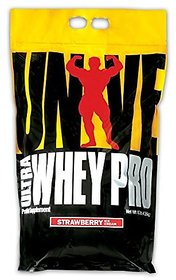 Universal Nutrition-ULTRA WHEY PROTEIN - 10LBS - STRAWB