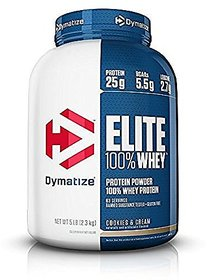 Dymatize Nutrition Elite 100% Whey Protein - 5 Lbs (Coo