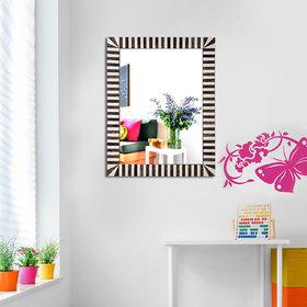 Hosley Decorative Zebra Wall Mirror