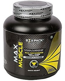 Six Pack Nutrition Max Muscle - 2 Kg (Choco Delight)