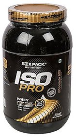 Six Pack Nutrition Iso Pro Whey Protein - 1 Kg (Chocola