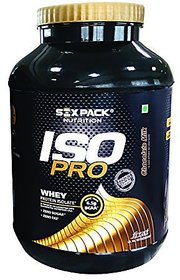 Six Pack Nutrition Iso Pro Whey Protein - 2 Kg (Chocola
