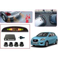 Premium Quality Car Parking Reverse Sensors For - Datsun Go  - Black -  Set Of 4Pcs.