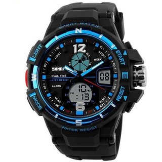 SKMEI 1148Blue Latest Designing Stylist Looking Analog Watch For Men