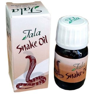 Tala Herbal Snake Oil To Controal Hairfall And Regrowth 20ml Pack of 2