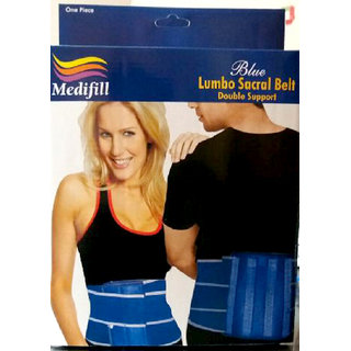 Medifill Lumbo Back Support Orthopedic Lumbo Sacral Belt Back Pain disc syndrome abdominal support low back ache pain