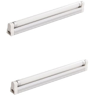 Philips Ace Saver 4 Feet 20 W LED Tube Light with Base- Pack of 2-kphilips20W4ftpc02