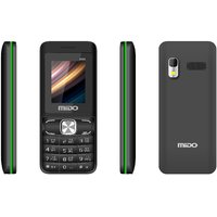 Mido M66 (Black And Red) Dual Sim Multimedia Phone With
