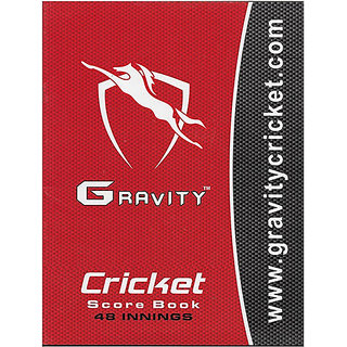 Gravity Cricket Scorebook 48 Innings