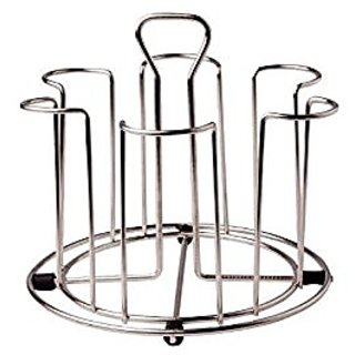 Rotek Stainless Steel Glass Stand