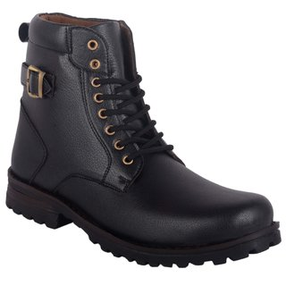 Austrich Black High Length Boot