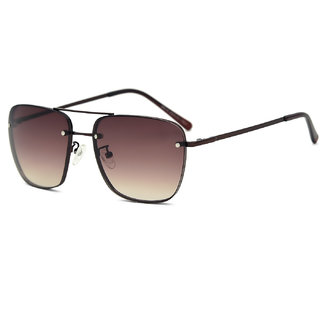 Royal Son Premium Men Sunglasses (HI0024|58|Brown Lens)
