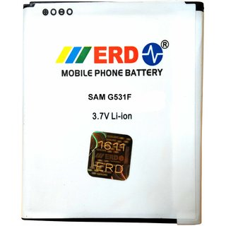 Erd Compatible Battery For Samsung Galaxy Grand Prime 4G SM-G531F