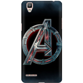 save off cf51b 598b5 TLG - Avengers Age Of UltronDesigned, Hard Case, 3D Matte finish Back Cover  for Oppo F1 Plus