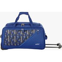 Safari Blue Fabric Duffel Bag (2 Wheels)