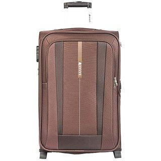 b0a4b86ec75 Buy Safari REVV 2WH Brown 55 Unisex soft Luggage Trolley Bag Online   ₹6100  from ShopClues