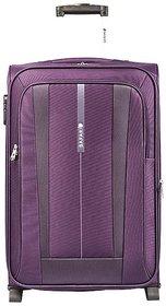 Safari REVV 2WH Purple 75 Unisex Soft Luggage Trolley Bag