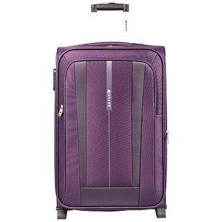 Safari REVV 2WH Purple 55 Unisex soft Luggage Trolley Bag