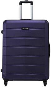 Safari Large (Above 70 cms) Purple Polycarbonate 4 Wheels Trolley