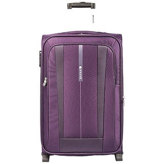 Safari REVV 2WH Purple 65 Unisex Hard Soft  Luggage Trolley Bag