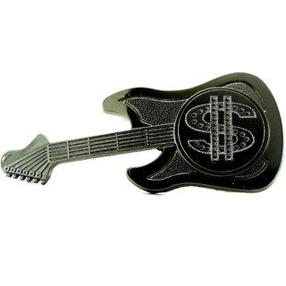 Belt Buckle Guitar Dollar Jsmfhbb0006