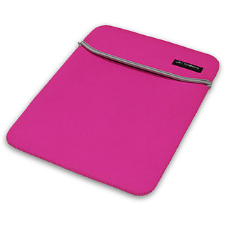 Clublaptop Standard Laptop Sleeve for 13.3 Laptops (Pink  Grey)