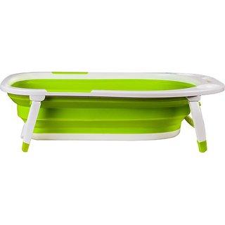 U-Grow Folding Silicone Baby Bath - Green