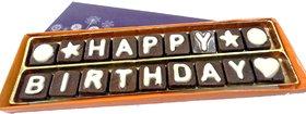 Happy Birthday Chocolate Message