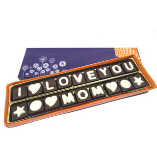 I Love You MOM Chocolate Message for Your Loving Mom