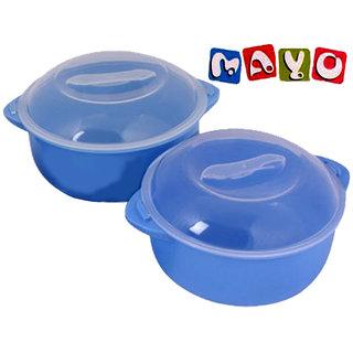 Mayo Claro Microwave Safe Cook-n-Serve Bowl Set-2Pcs