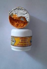 Maa Padma AsthaGandha Keshar / Kesar Chandan Tilak Paste 2 Pcs